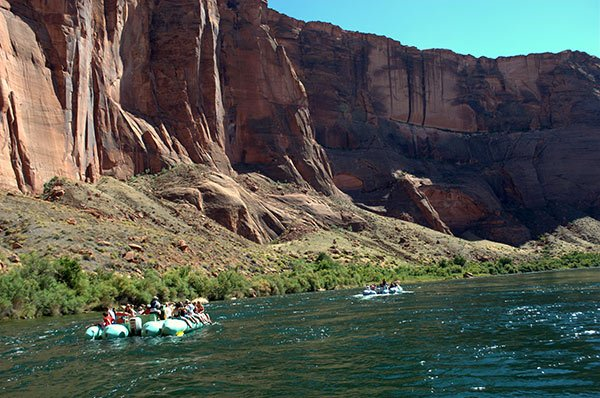 Smooth Water Float Trip Grand Canyon Airplane Tour